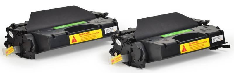 Лазерный картридж Cactus CS-CE255XD (HP 55X) черный увеличенной емкости для HP LaserJet M521 Pro 500 MFP, M521dn MFP (A8P79A), M521dw (A8P80A), M525 , M525c M525dn M525f P3010, P3015, P3015d, P3015dn, P3015n, P3015X (2 x 12'500 стр.)