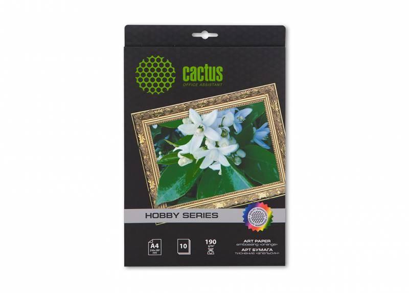 Фотобумага cactus cs-da419010 a4, 190г/м2, 10л.