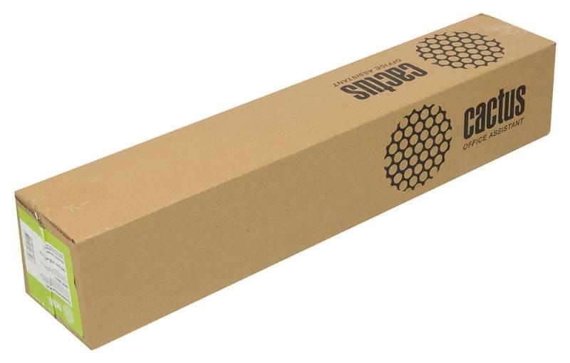 Холст Cactus CS-MC340-61015 610мм-15м, 340г/м2, белый для струйной печати втулка:50.8мм (2)Фотобумага<br><br>