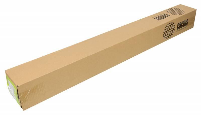 Холст Cactus CS-MC340-106715 1067мм-15м, 340г/м2, белый для струйной печати втулка:50.8мм (2)Широкоформатная бумага<br>