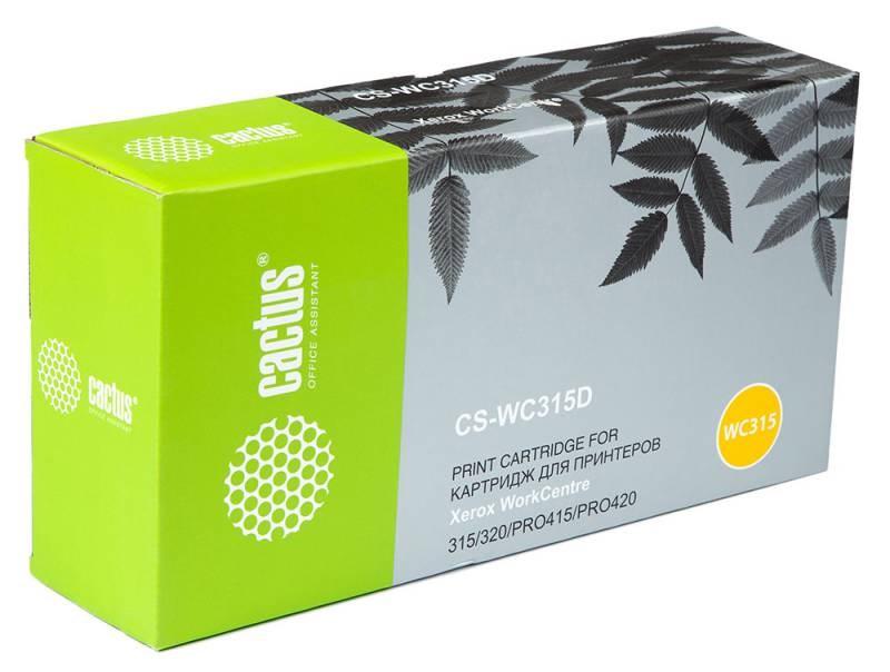 Лазерный картридж Cactus CS-WC315D (006R01044) черный для принтеров Xerox WorkCentre 315, 415, pro 315, pro 320, pro 415, pro 415dc, pro 420, pro 420dc, pro 420sp (2 x 6000 стр.)Лазерные картриджи для Xerox<br>Лазерный тонер картридж Cactus CS-WC315D (006R01044) создан для использования в принтерах Xerox WorkCentre 315, 415, pro 315, pro 320, pro 415, pro 415dc, pro 420, pro 420dc, pro 420sp<br>&amp;nbsp;<br><br>Ресурс картриджа 6000 страниц<br>&amp;nbsp;<br><br>Гарантия 12 месяцев<br>