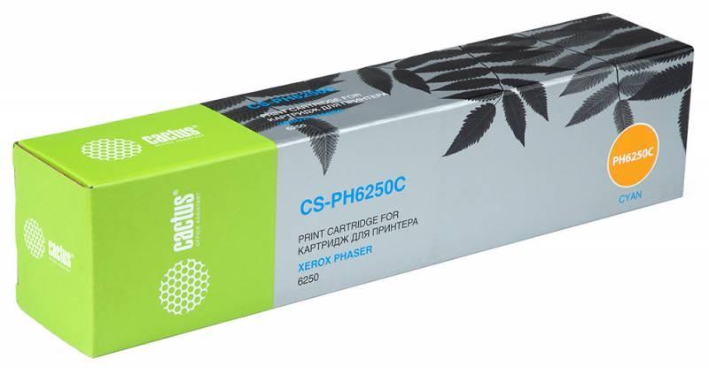 Лазерный картридж Cactus CS-PH6250C (106R00668) голубой для принтеров Xerox Phaser 6250, 6250b, 6250dp, 6250dt, 6250dx, 6250n (4000 стр.)Лазерные картриджи для Xerox<br>Лазерный тонер картридж Cactus CS-PH6250C (106R00668) создан для использования в принтерах Xerox Phaser 6250, 6250b, 6250dp, 6250dt, 6250dx, 6250n<br>&amp;nbsp;<br><br>Ресурс картриджа 4000 страниц<br>&amp;nbsp;<br><br>Гарантия 12 месяцев<br>
