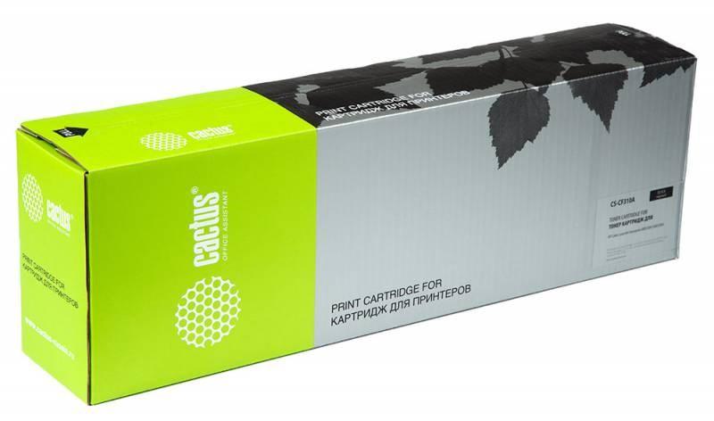 Лазерный картридж Cactus CS-CF310A (HP 826A) черный для принтеров HP  Color LaserJet M855 Enterprise, M855dn (A2W77A), M855xh (A2W78A), M855x+ (A2W79A), M855x+ NFC Enterprise (29000 стр.)Лазерные картриджи для HP<br>Лазерный картридж&amp;nbsp;Cactus CS-CF310A (HP 826A)?. Он совместим с лазерным принтером HP  Color LaserJet M855 ENTERPRISE, M855DN (A2W77A), M855XH (A2W78A), M855X+ (A2W79A), M855X+ NFC ENTERPRISE. Цвет - черный. С помощью данного картриджа Вы сможете распечатать порядка 29000 страниц текста (при 5% заполнении листа).&amp;nbsp; Cactus CS-CF310A создан по аналогии скартриджем Hewlett-Packard CF310A (HP 826A), нисколько не уступает ему по качеству печати, но цена его значительно ниже. Это позволит Вам немного сэкономить, ничего при этом не потеряв. На тонер-картридж Cactus CS-CF310A&amp;nbsp;распространяется гарантия 1 год с момента приобретения.<br>