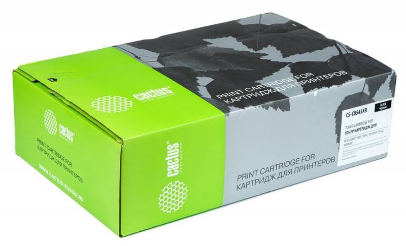 Лазерный картридж Cactus CS-C8543XR (43X Bk) черный для HP LaserJet 9000, 9000DN, 9000HNF, 9000HNS, 9000MFP, 9000L MFP, 9000N, 9040, 9040DN, 9040MFP, 9040N, 9050, 9050DN, 9050MFP, 9050N, M9040 MFP, M9050 MFP, M9059 MFP (30000 стр.)Лазерные картриджи для HP<br><br><br>Лазерный картридж Cactus CS-C8543XR<br><br>Предназначен для использования в принтерах HP LaserJet 9000, 9000DN, 9000HNF, 9000HNS, 9000MFP, 9000L MFP, 9000N, 9040, 9040DN, 9040MFP, 9040N, 9050, 9050DN, 9050MFP, 9050N, M9040 MFP, M9050 MFP, M9059 MFP<br><br>Цвет &amp;ndash; черный<br><br>Используя картридж Cactus CS-C8543XR у Вас будет возможность распечатать около 30&amp;#39;000 информационных страниц (при 5% заполнении).<br><br>Гарантия на картридж Cactus CS-C8543XR предоставляется производителем, сроком на 12 месяцев с момента приобретения.<br><br><br>