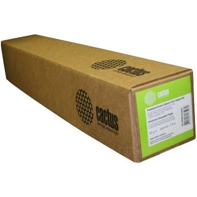 Бумага Cactus CS-LFP80-1067457E 42(A0+) 1067мм-45.7м, белый для струйной печатиФотобумага<br><br>