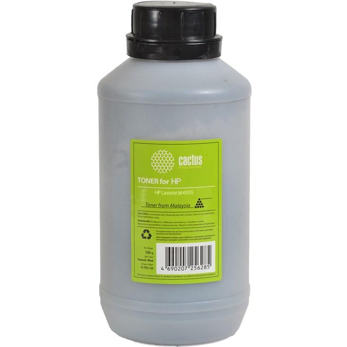 Тонер Cactus CS-MPSPH4555-470 (MPSPH4555-470) черный флакон 470гр. для принтера HP LJ M4555Тонер<br><br>