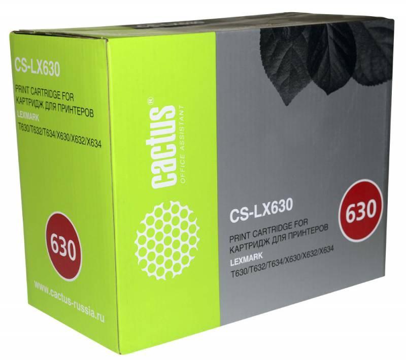 Лазерный картридж cactus cs-lx630