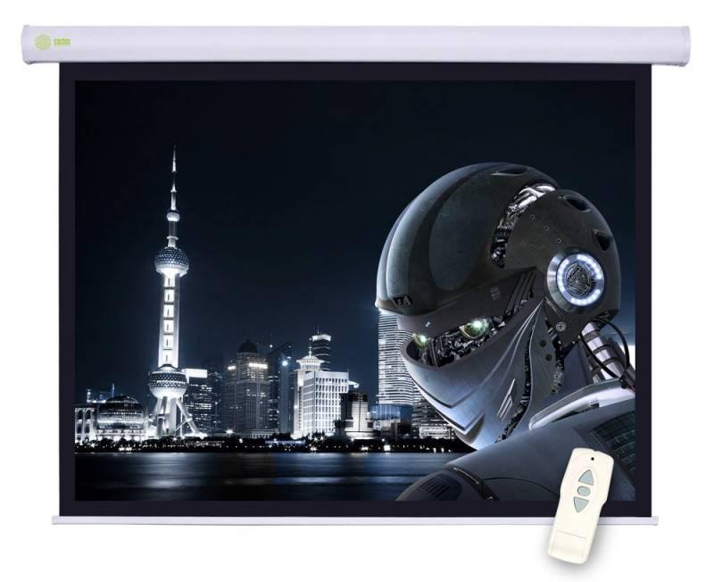 Экран cactus motoscreen cs-psm-124x221 100 16:9 настенно-потолочный рулонный (моторизованный привод)
