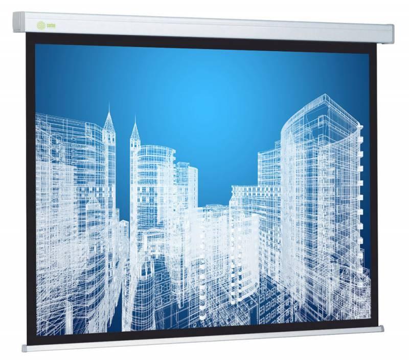 """Экран Cactus Wallscreen CS-PSW-187x332 150"""" 16:9 настенно-потолочный рулонный белый 359047"""