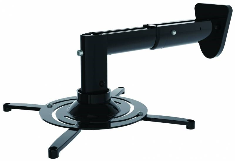 Кронштейн для проектора Cactus CS-VM-PR05B-BK черный макс.10кг настенный и потолочный поворот и наклонКронштейны для проекторов<br><br>