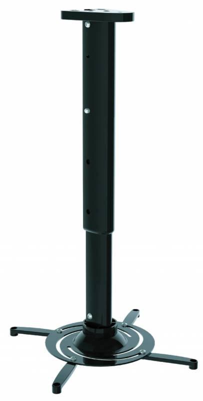 Кронштейн для проектора Cactus CS-VM-PR05L-BK черный (до 10 кг.) настенный и потолочный, поворот и наклон фото