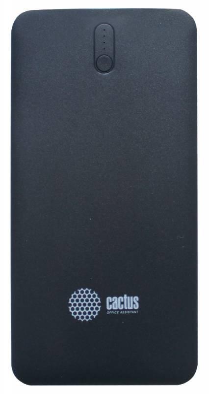 Мобильный аккумулятор Cactus CS-PBAS283 Li-Pol 10000mAh 1A+2.1A черный/темно-серый 2xUSBМобильные аккумуляторы<br><br>