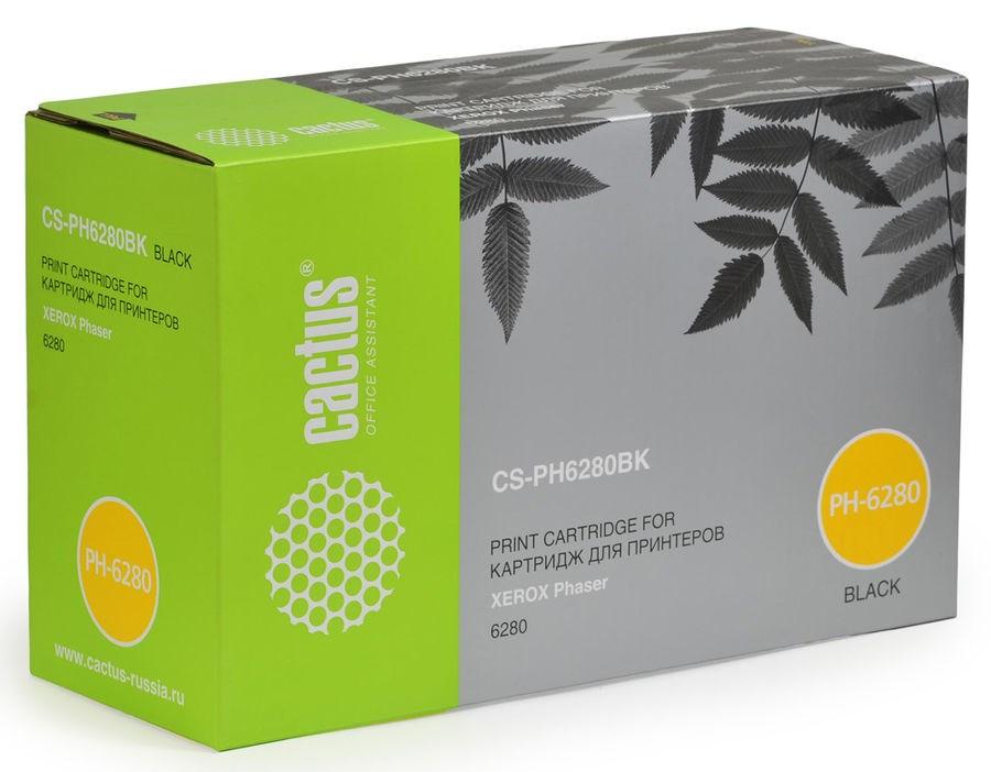 Лазерный картридж Cactus CS-PH6280BKR (106R01403) черный для принтеров Xerox Phaser 6280, 6280dn, 6280n (7000 стр.)Лазерные картриджи для Xerox<br>Лазерный тонер картридж Cactus CS-PH6280BKR (106R01403) создан для использования в принтерах Xerox Phaser 6280, 6280dn, 6280n<br><br>&amp;nbsp;<br><br>Ресурс картриджа 7000 страниц<br>