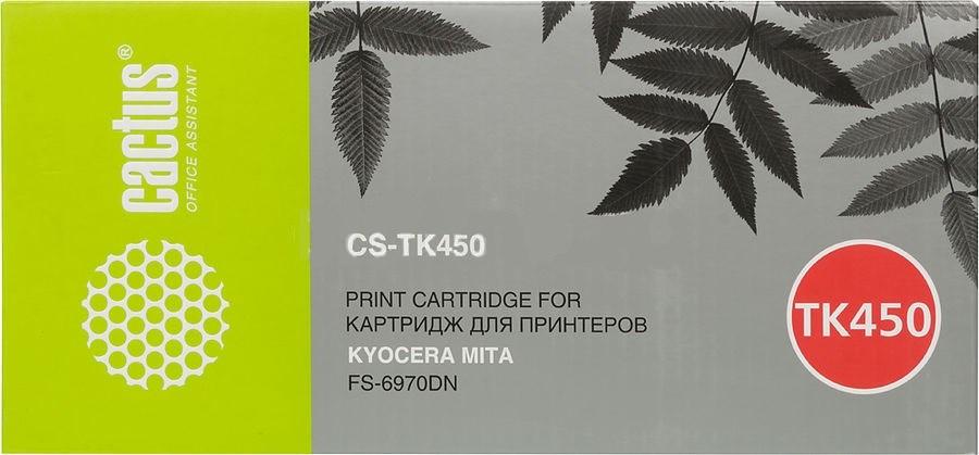 Тонер Картридж Cactus CS-TK450 черный для Kyocera Mita FS-6970DN (15000стр.)Картриджи для Kyocera<br><br>