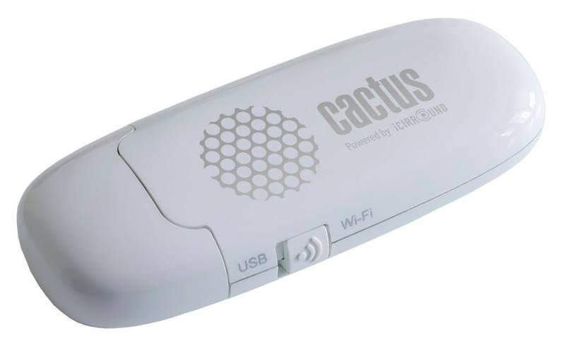 Диск Flash Cactus iShowDrive (СACTUS_ISHOWDRIVE_8GB) 8Gb whiteМелкая электроника<br>