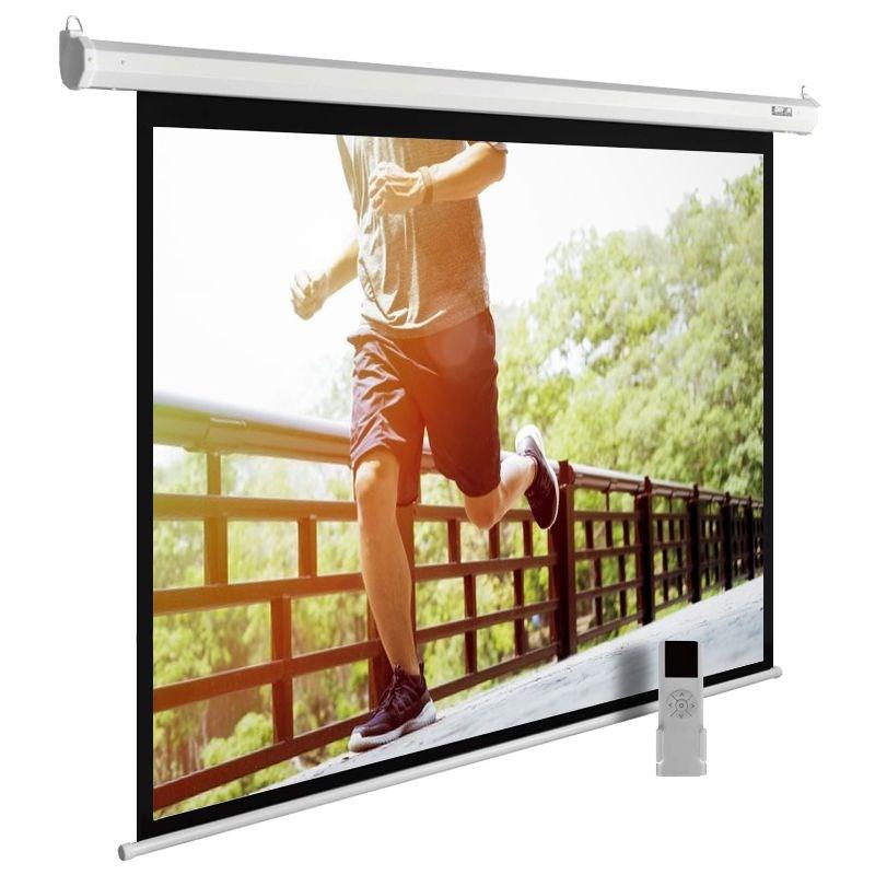 Экран cactus motoexpert cs-psme-280x175-wt 130 16:10 настенно-потолочный рулонный белый (моторизованный привод)
