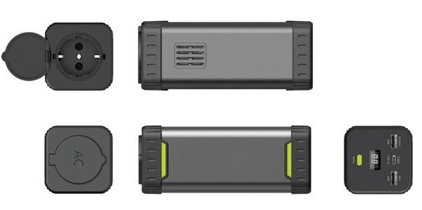 Мобильный аккумулятор Cactus CS-PBHTBP-20800 Li-Ion 20800mAh 2.4A+3A+3.2A графит 3xUSB фото