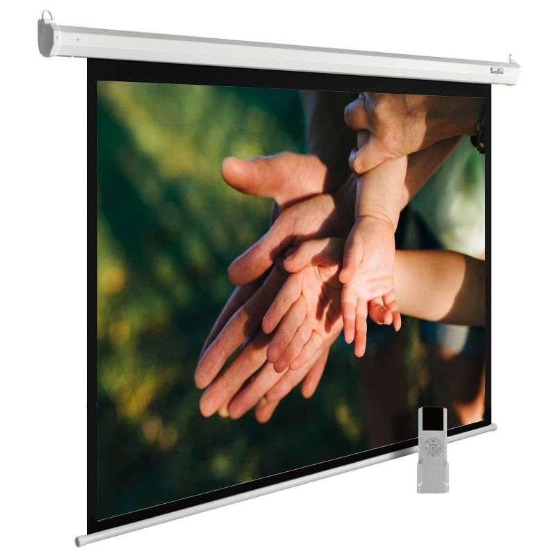 """Экран Cactus MotoExpert CS-PSME-280X280-WT 150"""" 1:1 настенно-потолочный рулонный белый (моторизованный привод) 407874"""
