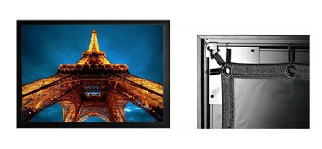 Экран Cactus FrameExpert CS-PSFRE-280X158 16:9 на раме настенно-потолочный натяжнойЭкраны для проекторов<br>CS-PSFRE-280X158 это натяжной экранnbsp;на фиксированной раме, что обеспечивает идеально ровную поверхность для получения превосходной картинки при просмотре видео. Идеально подходит для короткофокусных проекторов.<br><br>Особенности покрытия: белый матовый<br>Моторизованный привод: нет<br>Размер белого поля полотна (см): 280 x 157.5<br>Размеры черной кромки (см): 3<br>Размер корпуса экрана (см): 300 x 178 x 4<br>Размер упаковки (см): 29 x 18.4 x 308<br>Вес: 32,26кг