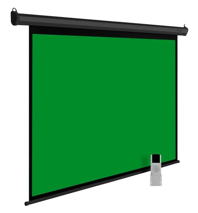Экран с хромакеем Cactus GreenMotoExpert CS-PSGME-200X200 1:1 настенно-потолочный рулонныйЭкраны с хромакеем<br>CS-PSGME-200X200 -nbsp;экран с хромакеем зеленого цвета, применяемый в кино и телевидении для наложения фона.<br><br>Особенности покрытия: Хромакей (зеленый экран)<br>Моторизованный привод: да<br>Размер белого поля полотна (см): 194 x 194<br>Размеры черной кромки (см): 3<br>Размер корпуса экрана (см): 217.7 x 10 x 9<br>Размер упаковки (см): 235 x 17 x 15.5<br>Вес: 11,74кг