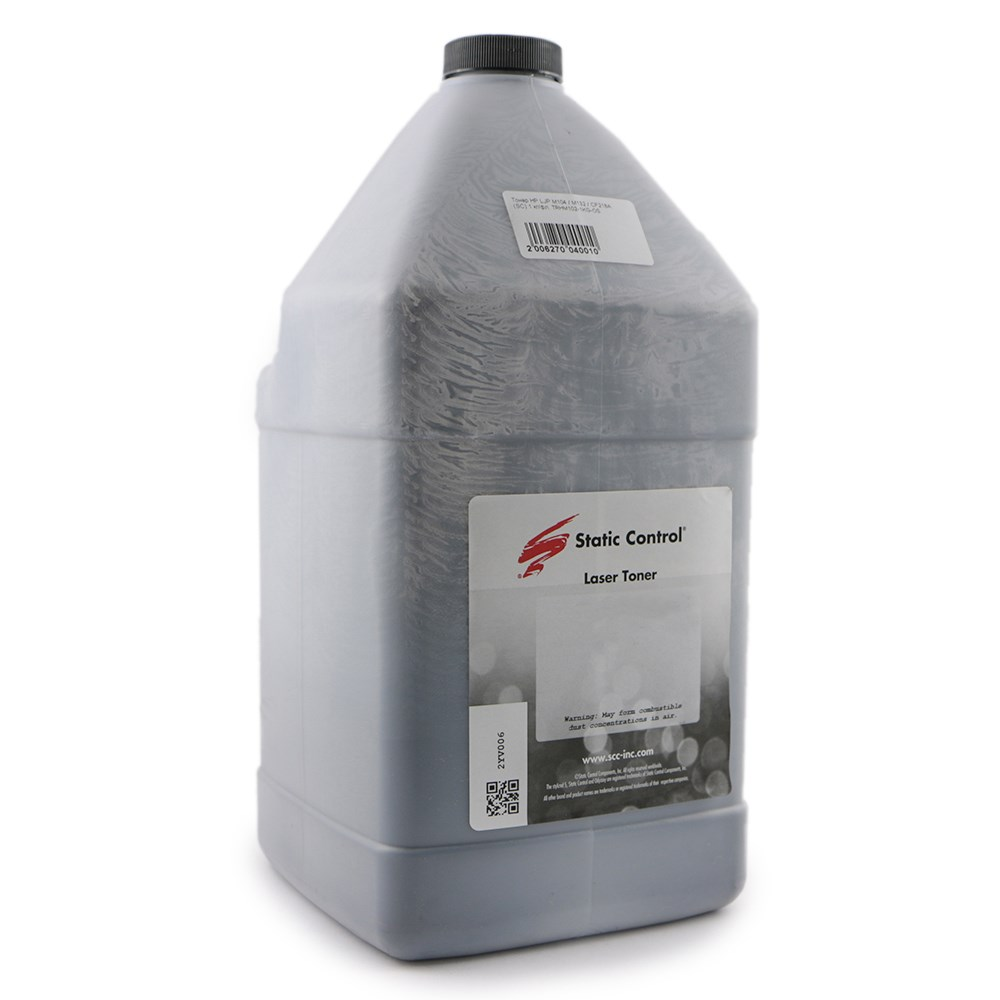 Тонер static control kytk895-1kg-k черный для