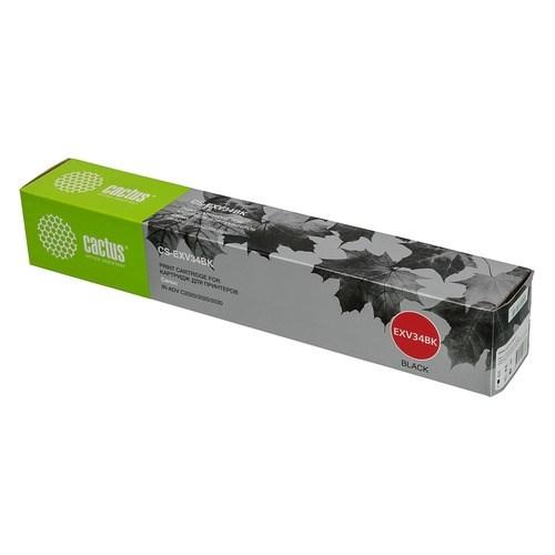 Лазерный картридж Cactus CS-EXV34BK (C-EXV34) черный для Canon IR Advance C2020, Advance C2020l, Advance C2025, Advance C2030, Advance C2030l, Advance C2220, Advance C2220l, Advance C2225, Advance C2230 (23'000 стр.) фото