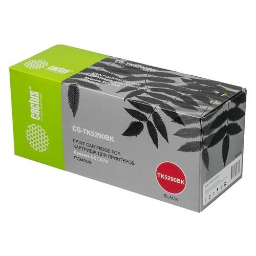 Лазерный картридж Cactus CS-TK5290BK (TK-5290K) черный для Kyocera Ecosys P7240CDN (17'000 стр.) фото
