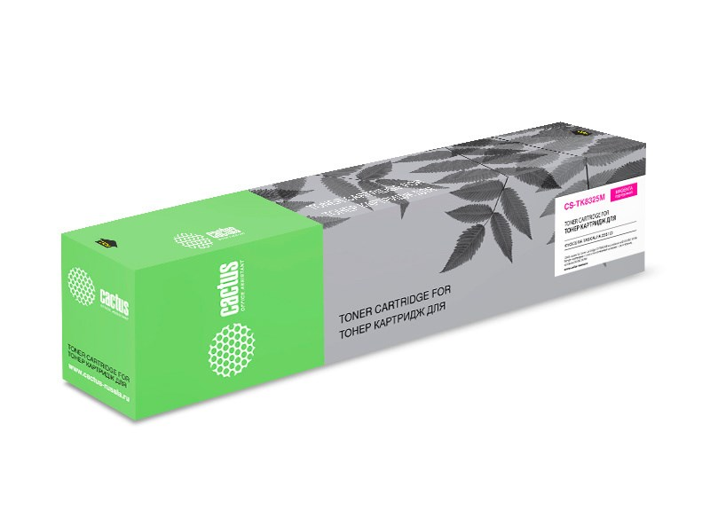 Лазерный картридж Cactus CS-TK8325M (TK-8325M) пурпурный для Kyocera Mita TASKalfa 2551ci MFP KX (12'000 стр.) фото