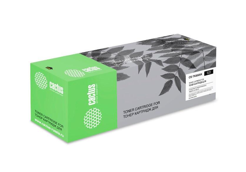 Лазерный картридж Cactus CS-TK8505K (TK-8505K) черный для Kyocera Mita TASKalfa 4550, 4550ci, 4551, 4551ci, 5550, 5550ci, 5551, 5551ci (30'000 стр.) фото