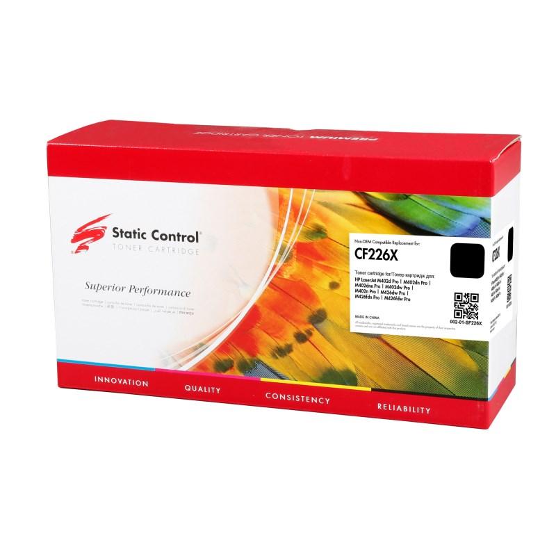Лазерный картридж Static Control 002-01-SF226X (CF226X) черный увеличенной емкости для HP LaserJet M402d Pro, M402dn Pro, M402dne Pro, M402dw Pro, M402n Pro, M426dw Pro, M426fdn Pro, M426fdw Pro (9'000 стр.) фото