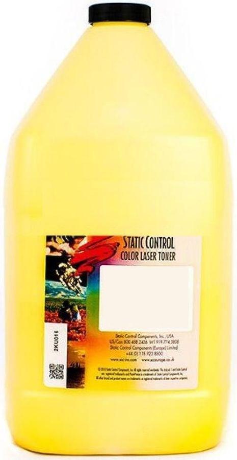 Тонер Static Control KYTK5240-1KG-Y желтый для принтера Kyocera Ecosys P5026, M5526 (флакон 1'000 гр.) фото