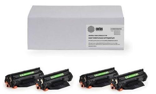 Комплект картриджей Cactus CS-PH6500BK-PH6500C-PH6500M-PH6500Y для принтеров Xerox Phaser 6500, 6500dn, 6500n, 6500v; WorkCentre 6505, 6505n, 6505v фото