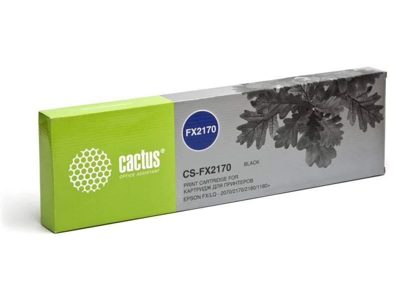 Матричные картриджи Cactus CS-FX2170 черный для Epson FX LQ-2070, 2170, 2180, 1180