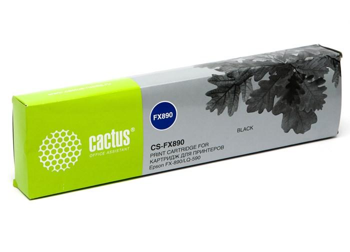 Матричные картриджи Cactus CS-FX890 черный для Epson FX-890, LQ-590