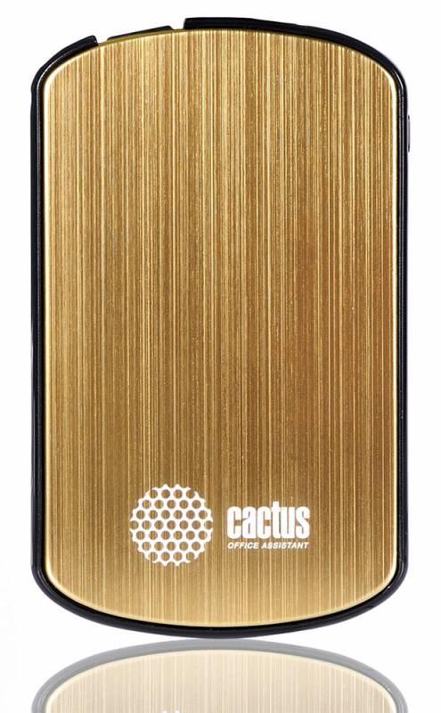 Мобильный аккумулятор Cactus CS-PBAS073-1650GD 1650mAh 1A золотойМобильные аккумуляторы<br><br>