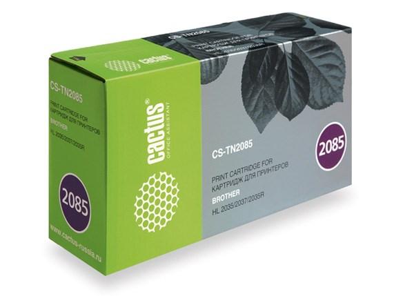 Лазерный картридж Cactus CS-TN2085 (TN-2085) черный для принтеров HL-2035, HL-2035R (1500 стр.)Лазерные картриджи<br>Лазерный тонер картридж Cactus CS-TN2085 (TN-2085) создан для использования в принтерах Brother HL-2035, HL-2035R<br>&amp;nbsp;<br><br>Ресурс картриджа 1500 стр.<br>&amp;nbsp;<br><br>Гарантия 12 месяцев<br>