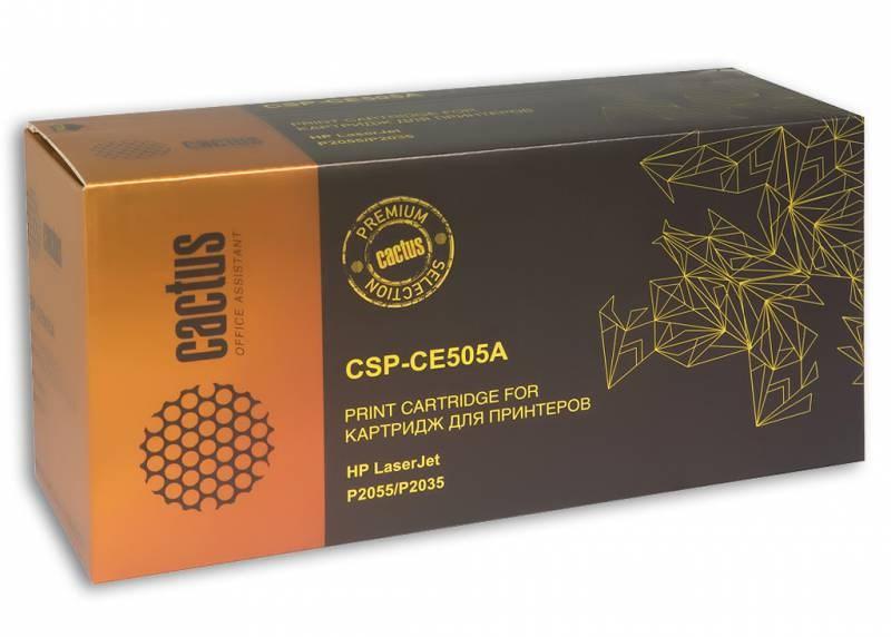 Лазерный картридж cactus csp-ce505a