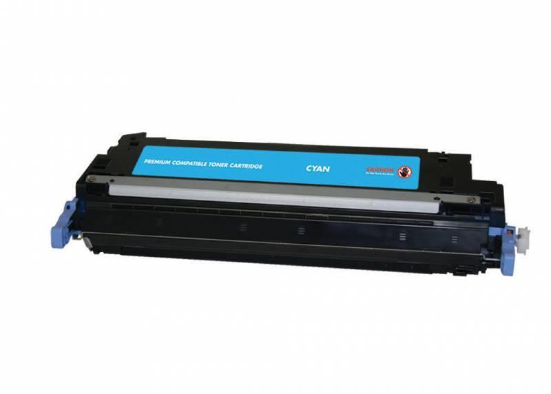 Лазерный картридж Cactus CSP-Q6471A (HP 502A) голубой для принтеров HP  Color LaserJet 3600, 3600DN, 3600N, 3800, 3800DN, 3800DTN, 3800N, CP3505, CP3505dn, CP3505n, CP3505x (4000 стр.)
