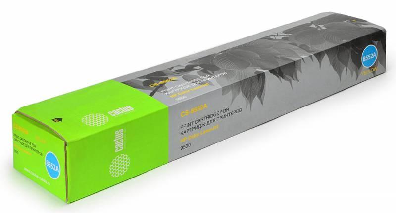 Лазерный картридж Cactus CS-C8552A (HP 822A) желтый для принтеров HP Color LaserJet 9500, 9500GP, 9500HDN, 9500 MFP, 9500N (25000 стр.)