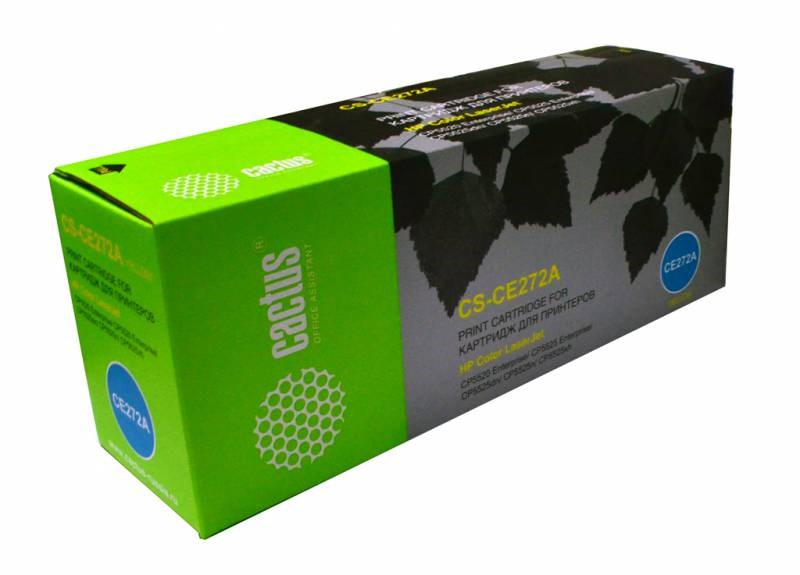 Лазерный картридж Cactus CS-CE272A (HP 650A) желтый для принтеров HP  Color LaserJet CP5520 Enterprise, CP5525 Enterprise, CP5525dn, CP5525n, CP5525xh, M750dn Enterprise D3L09A, M750n Enterprise D3L08A, M750xh Enterprise D3L10A (15000 стр.)Лазерные картриджи для HP<br>Лазерный картридж&amp;nbsp;Cactus CS-CE272A (HP 650A)?. Он совместим с лазерным принтером HP  Color LaserJet CP5520 ENTERPRISE, CP5525 ENTERPRISE, CP5525DN, CP5525N, CP5525XH, M750DN ENTERPRISE D3L09A, M750N ENTERPRISE D3L08A, M750XH ENTERPRISE D3L10A. Цвет - желтый. С помощью данного картриджа Вы сможете распечатать порядка 15000 страниц текста (при 5% заполнении листа).&amp;nbsp; Cactus CS-CE272A создан по аналогии скартриджем Hewlett-Packard CE272A (HP 650A), нисколько не уступает ему по качеству печати, но цена его значительно ниже. Это позволит Вам немного сэкономить, ничего при этом не потеряв. На тонер-картридж Cactus CS-CE272A распространяется гарантия 1 год с момента приобретения.<br>