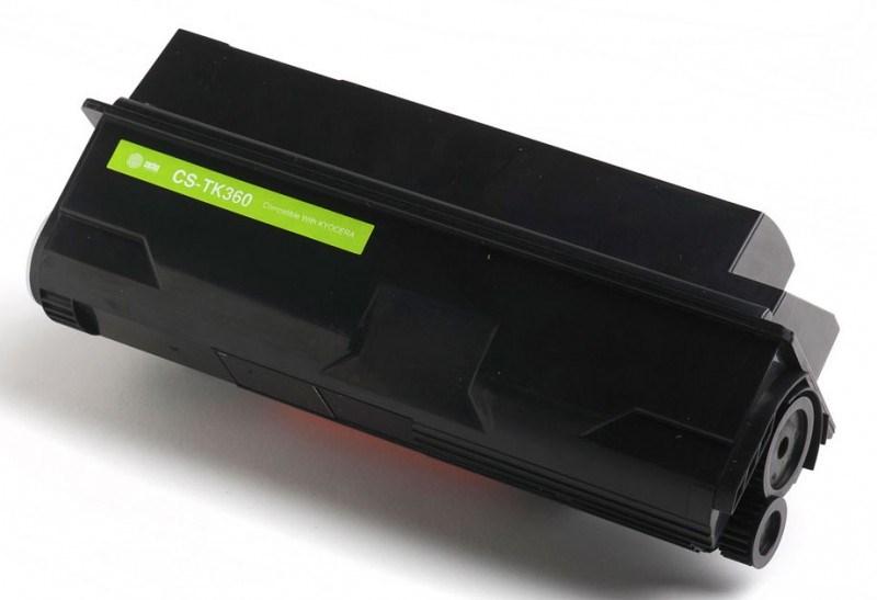 Лазерный картридж Cactus CS-TK360 (TK-360) черный для принтеров Kyocera Mita FS 4020, 4020dn (20'000 стр.) 690221
