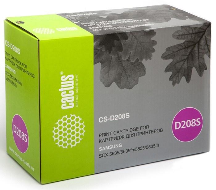 Лазерный картридж Cactus CS-D208S (MLT-D208S) черный для Samsung SCX5635, 5635fn, 5835, 5835fn (7'500 стр.) фото