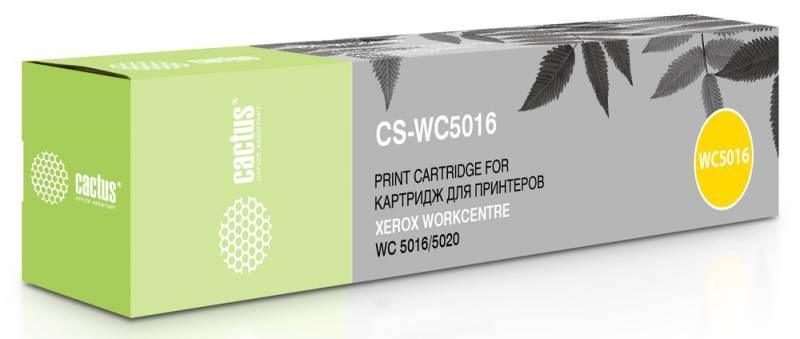 Лазерный картридж Cactus CS-WC5016 (106R01277) черный для Xerox WorkCentre 5016, 5020, 5020b, 5020db, 5020dn (2 x 6'300 стр.) фото