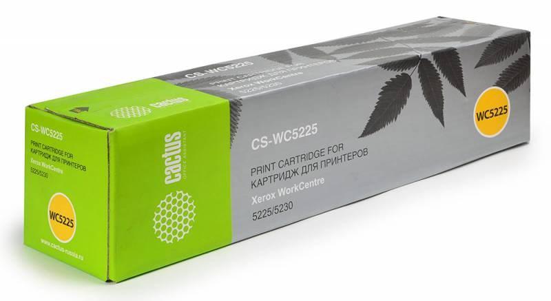 Лазерный картридж Cactus CS-WC5225 (106R01305) черный для Xerox WorkCentre 5225, 5230, pro 5225 (30'000 стр.)