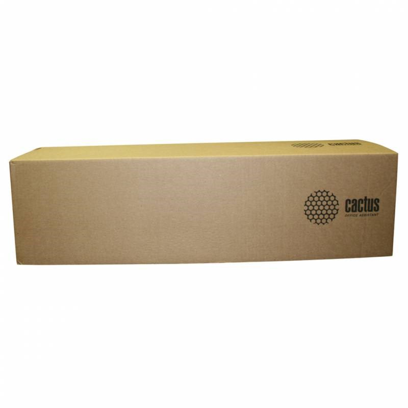 Бумага Cactus CS-LFP80-594175 A1 594мм-175м, 80г/м2, белый инженерная бумага втулка:76.2мм (3)Широкоформатная бумага<br><br>
