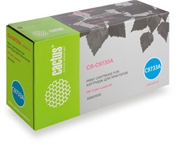 Лазерный картридж Cactus CS-C9733AR (HP 645A) пурпурный для принтеров HP  Color LaserJet 5500, 5500DN, 5500DTN, 5500HDN, 5500TDN, 5500N, 5550, 5550DN, 5550DTN, 5550HDN, 5550N (12000 стр.) - фото 10016