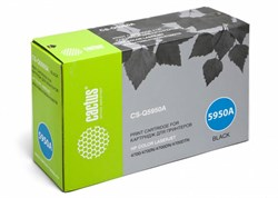 Лазерный картридж Cactus CS-Q5950AR (HP 643A) черный для принтеров HP Color LaserJet 4700, 4700DN, 4700DTN, 4700HDN, 4700N, 4700PH Plus (11000 стр.) - фото 10076
