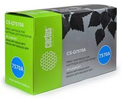Лазерный картридж Cactus CS-Q7570AR (HP 70A) черный для принтеров HP LaserJet M5025 MFP, M5035 MFP, M5035x MFP, M5035xs MFP, M5039 Enterprise, M5039xs MFP (15000 стр.) - фото 10096