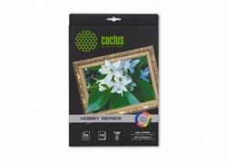 Фотобумага Cactus CS-DA419010L A4, 190г/м2, 10л, белая матовая лён для струйной печати - фото 10226