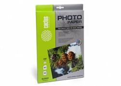 Фотобумага Cactus CS-GA323050 A3/230г/м2/50л./белый глянцевое для струйной печати - фото 10230